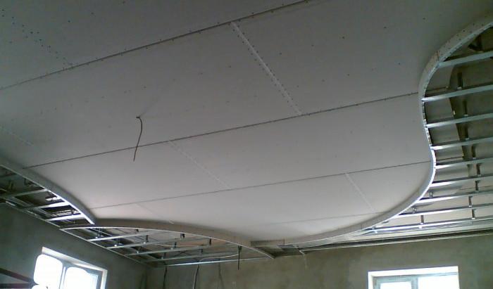 Потолок дизайн своими руками фото