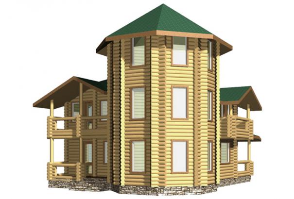 Дом с башней ZS-DB2001