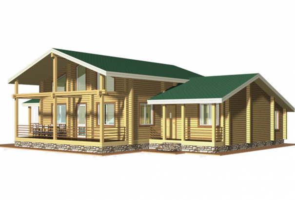 Дом с террасами ZS-DBR2001